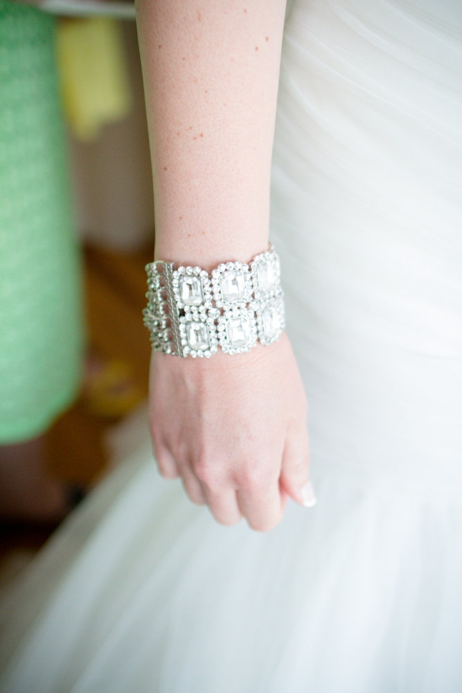 Elegant bridal jewelry