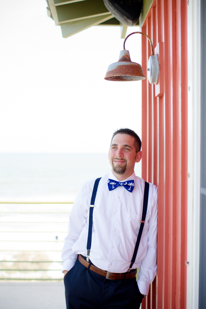 South Carolina wedding bow tie