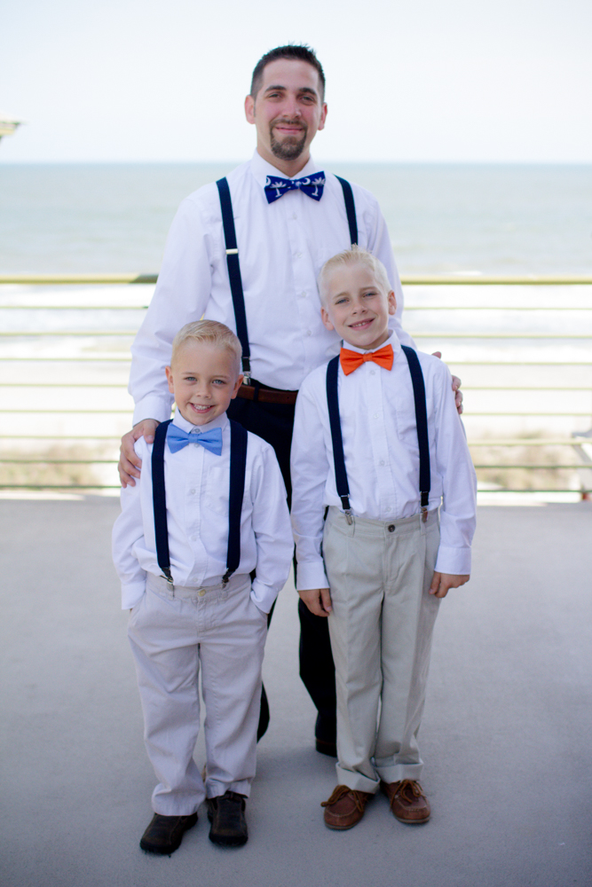 Wedding party bow ties