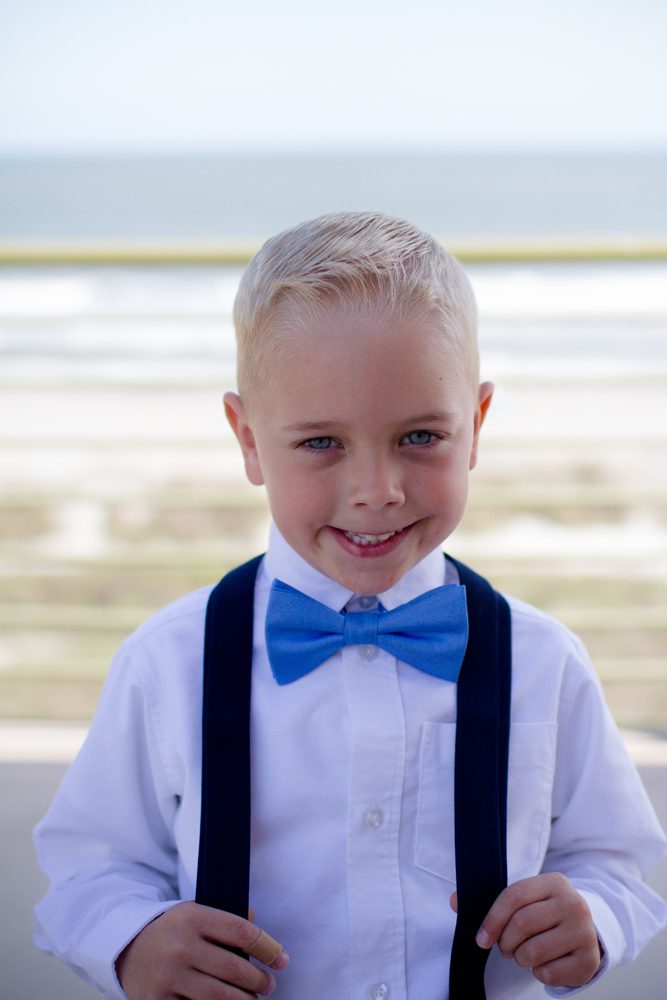 Ring bearer bow tie
