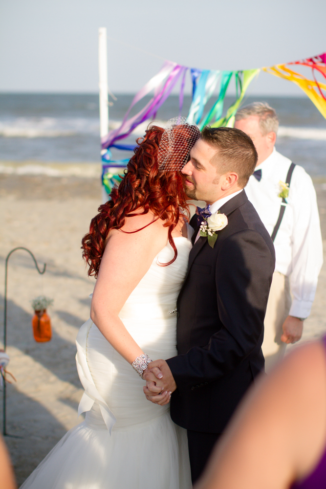 Rainbow beach wedding