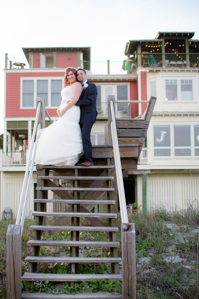 Folly Beach house wedding