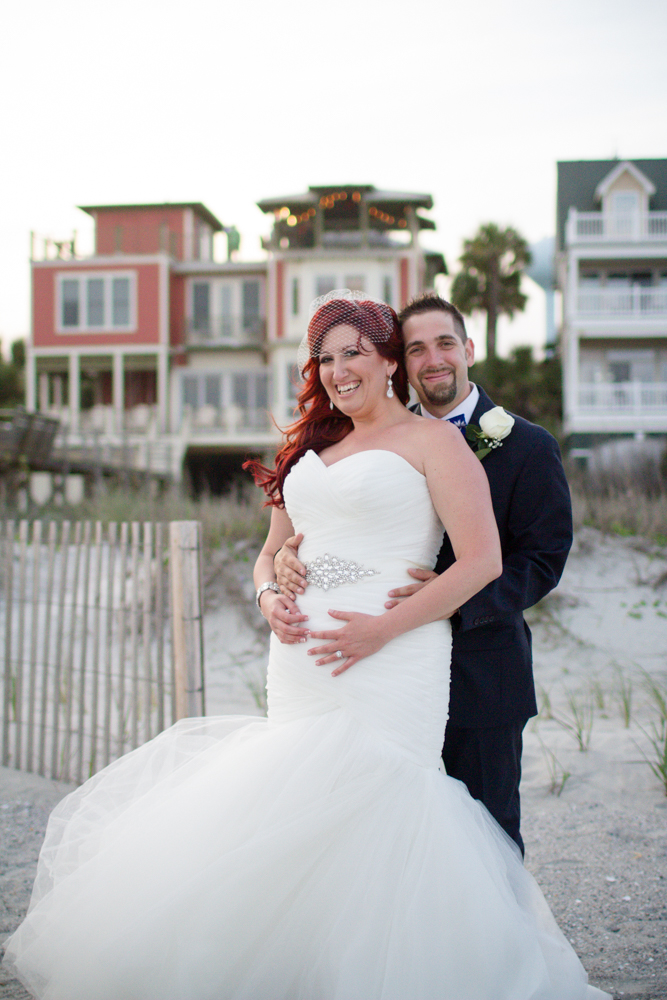 Folly Beach wedding photos