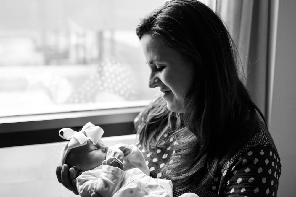 Newborn baby girl | Lorin Marie Photography