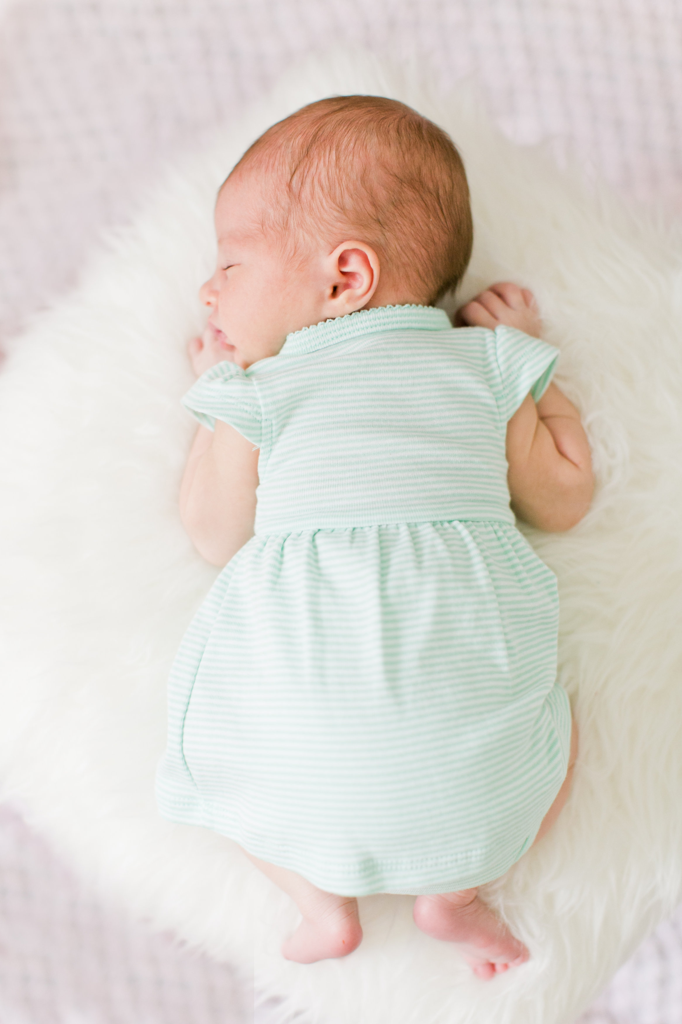 Mint green newborn outfit