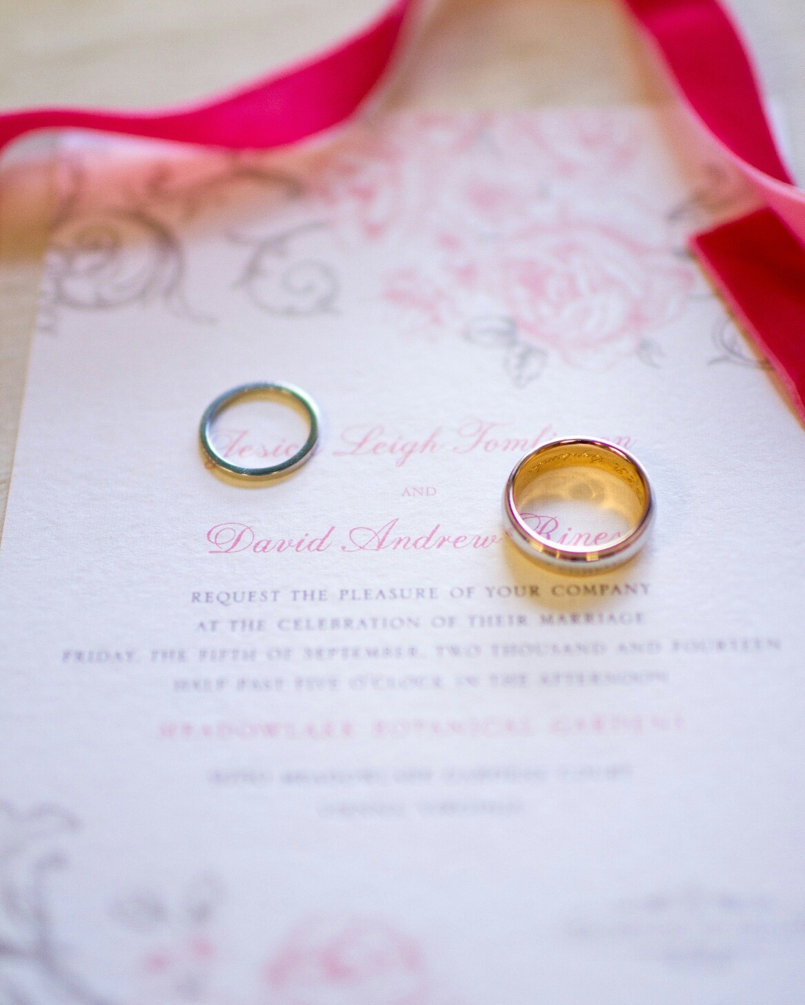 Pretty wedding details | Lorin Marie Photography