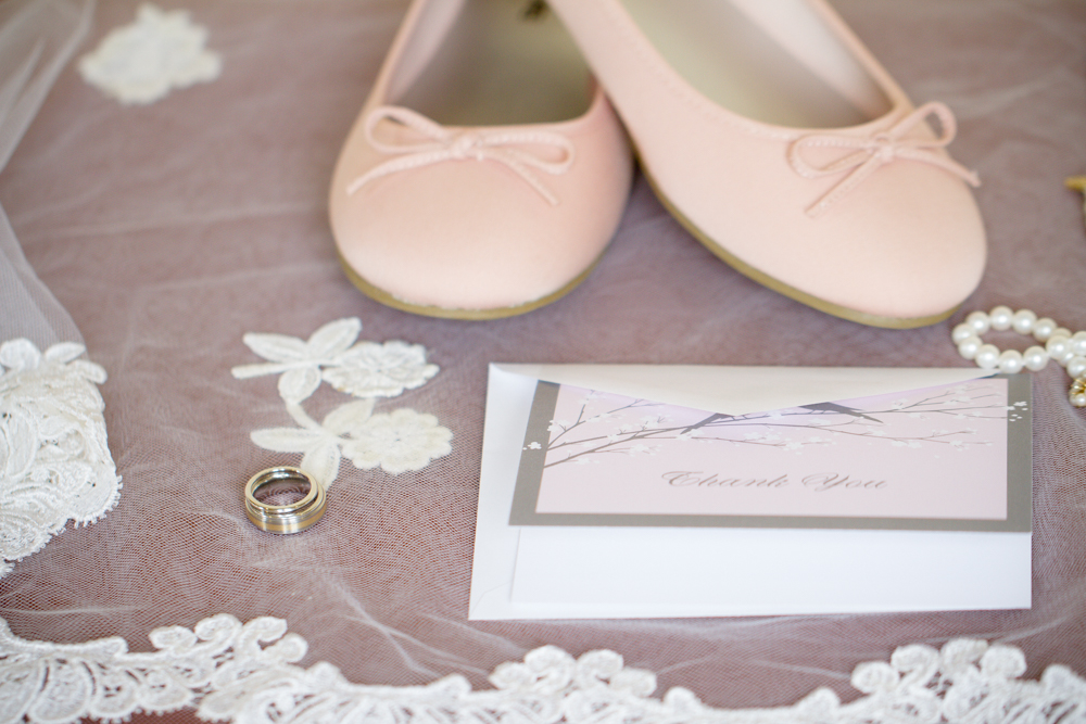 Grey and pink wedding | Lorin Marie Photography
