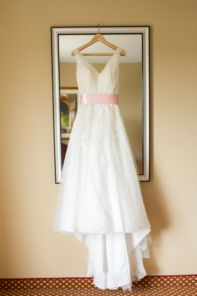 David's Bridal wedding dress | Lorin Marie Photography