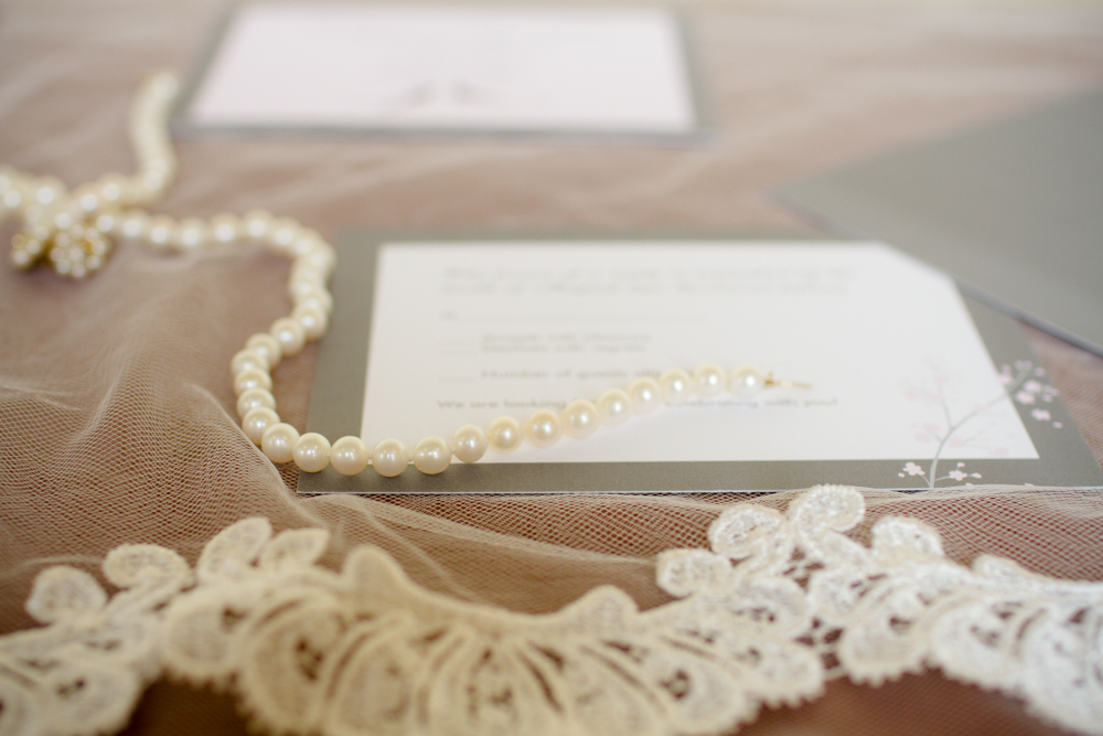 Vintage lace veil | Lorin Marie Photography