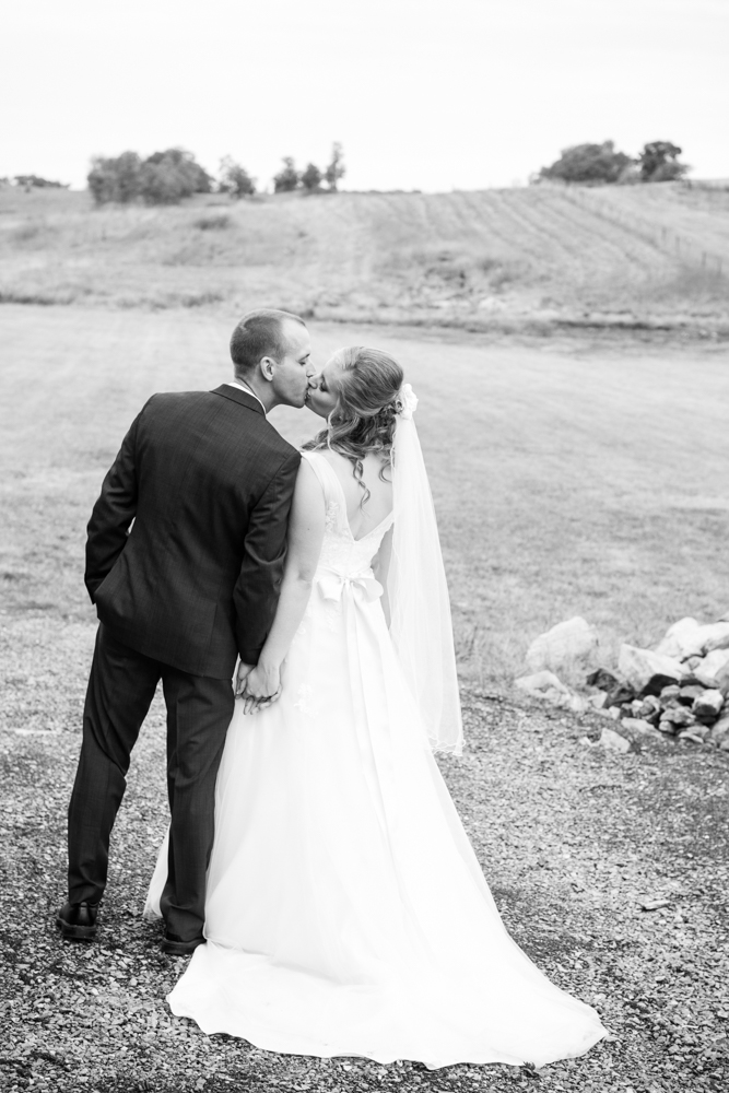 Bride and groom first look | Lorin Marie Photography