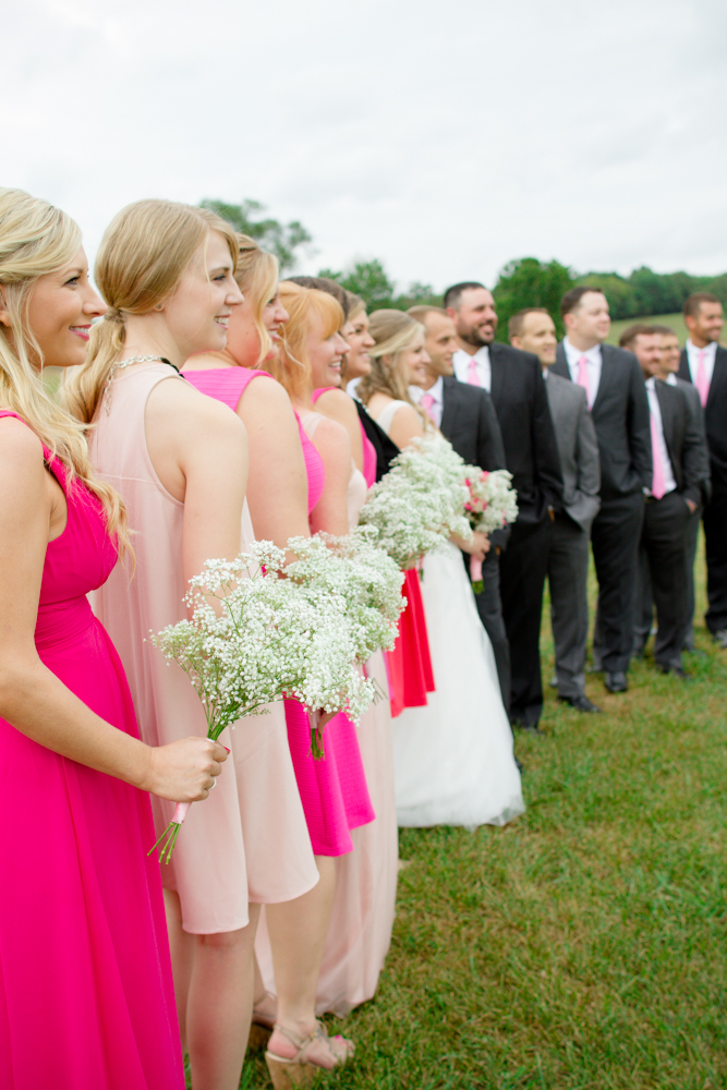 Fall bridal party | Lorin Marie Photography