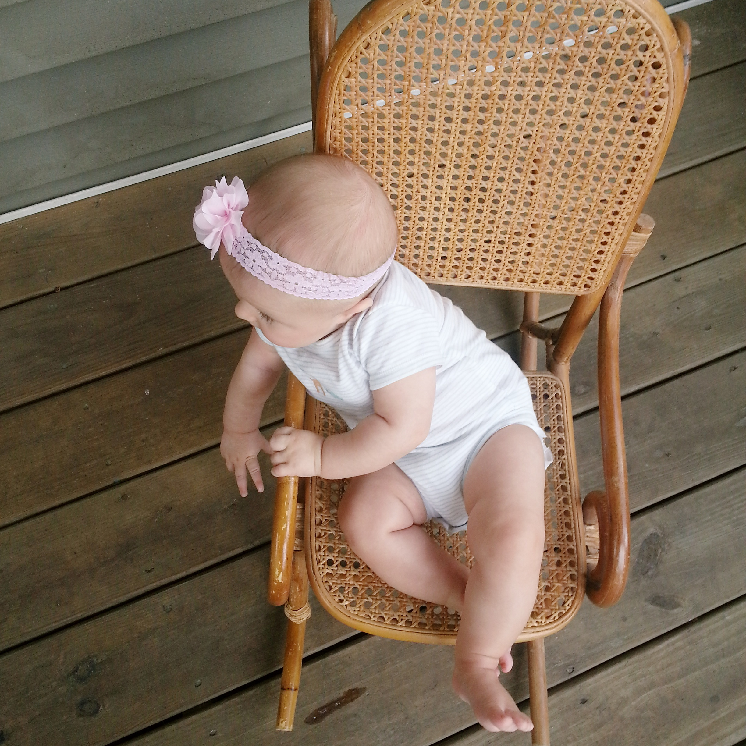 Baby rocking chair | Lorin Marie Photography