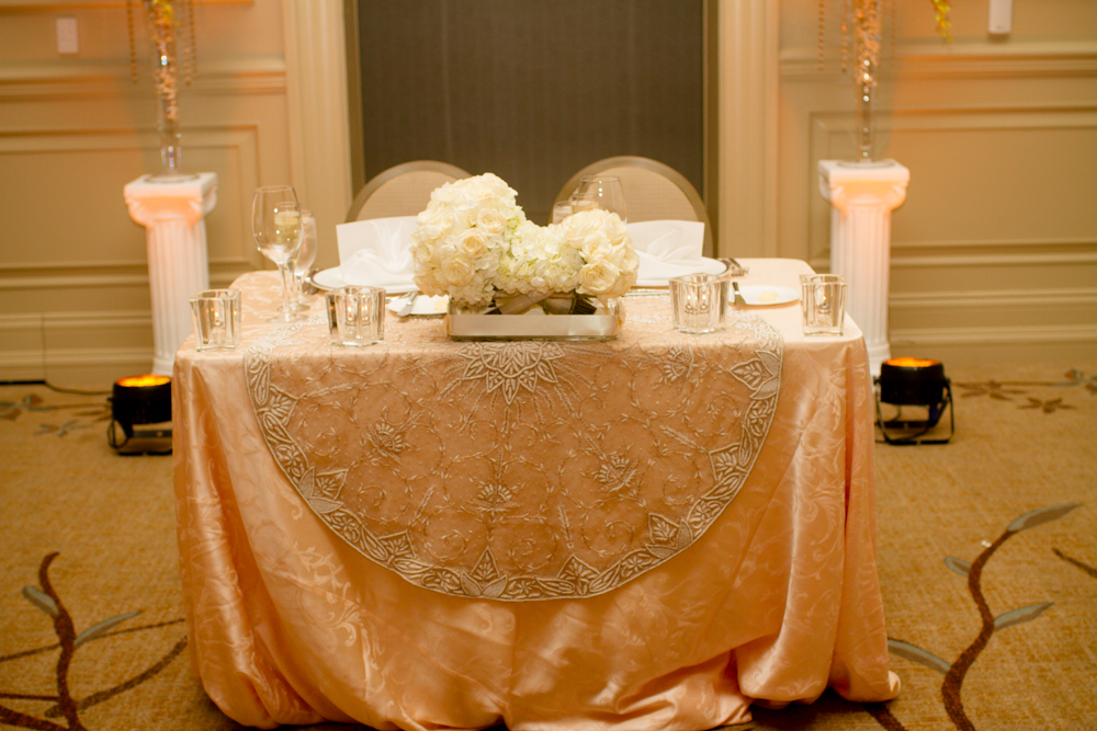 Persian sweetheart wedding table | Lorin Marie Photography