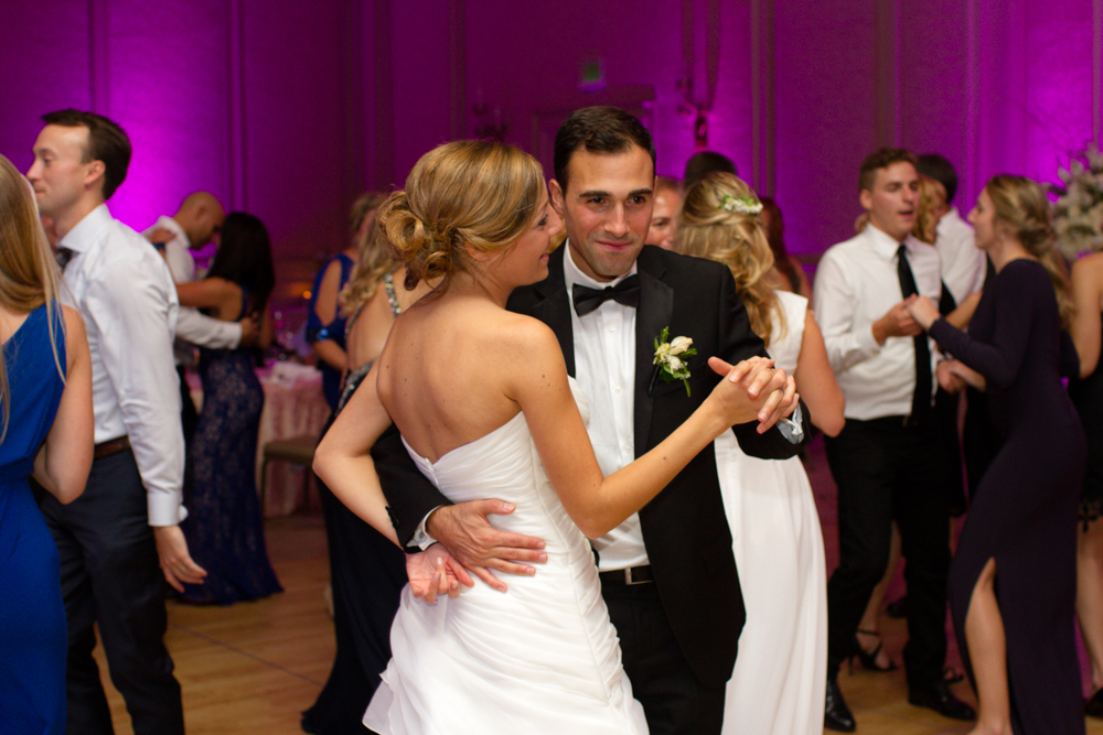 Bride and groom dancing | Lorin Marie Photography