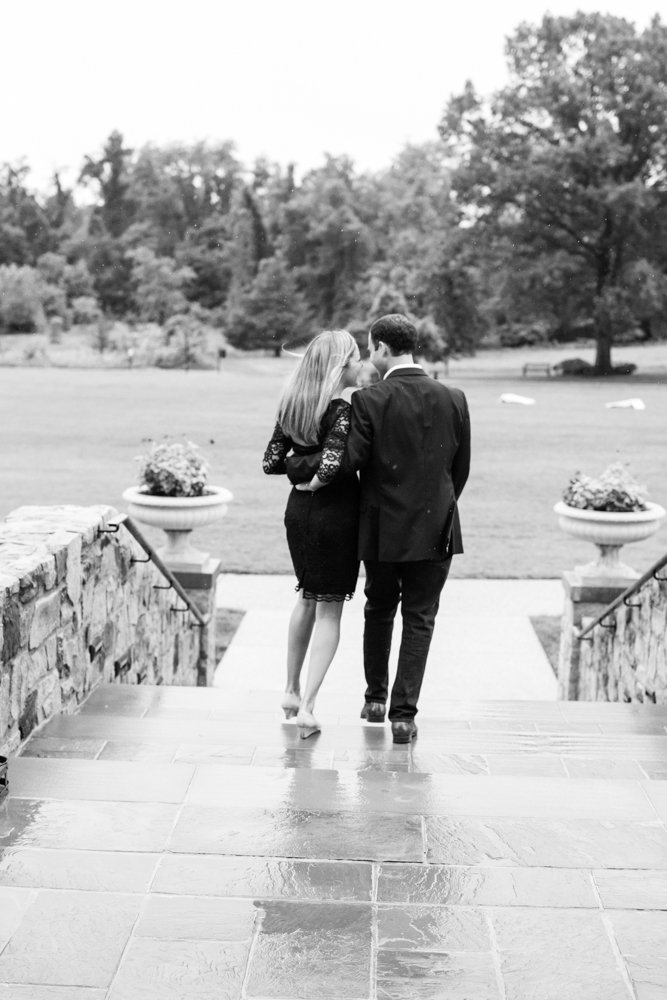 Rainy day engagement session | Lorin Marie Photography