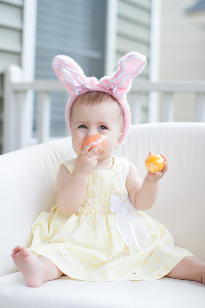Baby Easter cute bunny ears