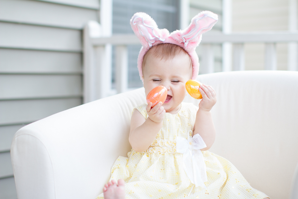Baby's first Easter cute ideas