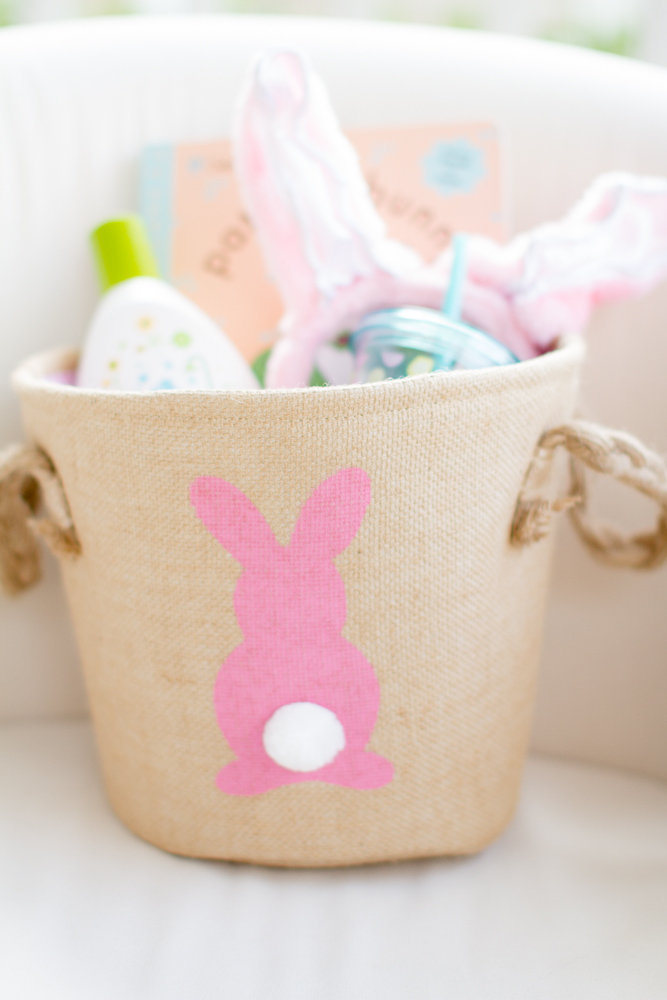 First Easter basket for baby