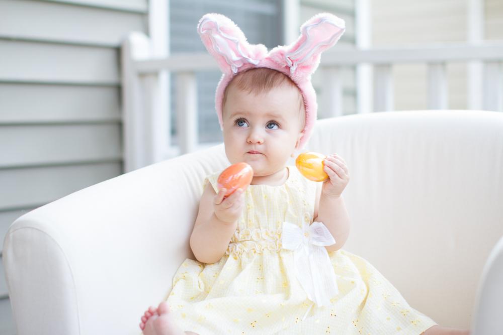 Easter portrait idea