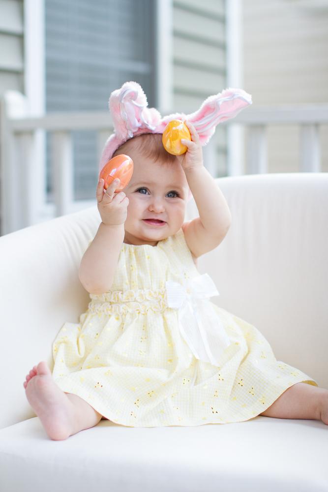 Cute Easter portrait ideas