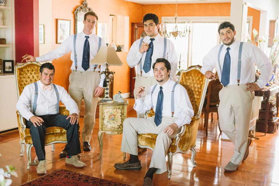 godfather groomsmen photo