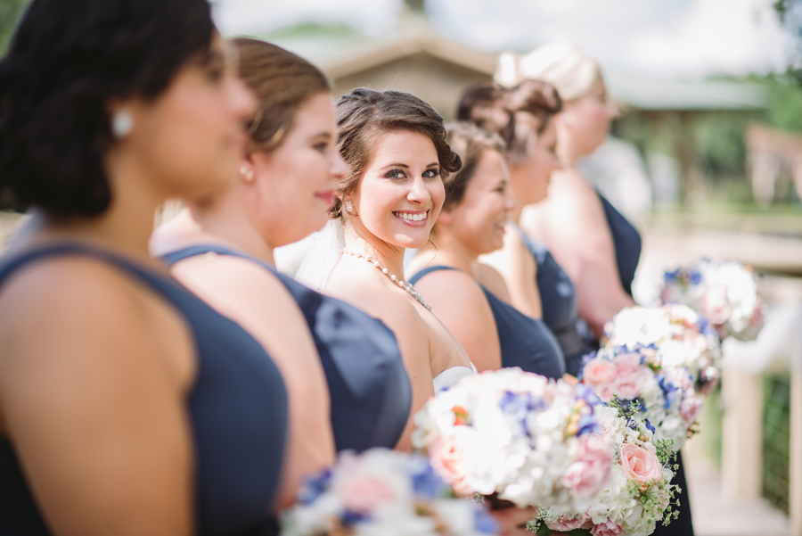 interesting bridesmaid shot