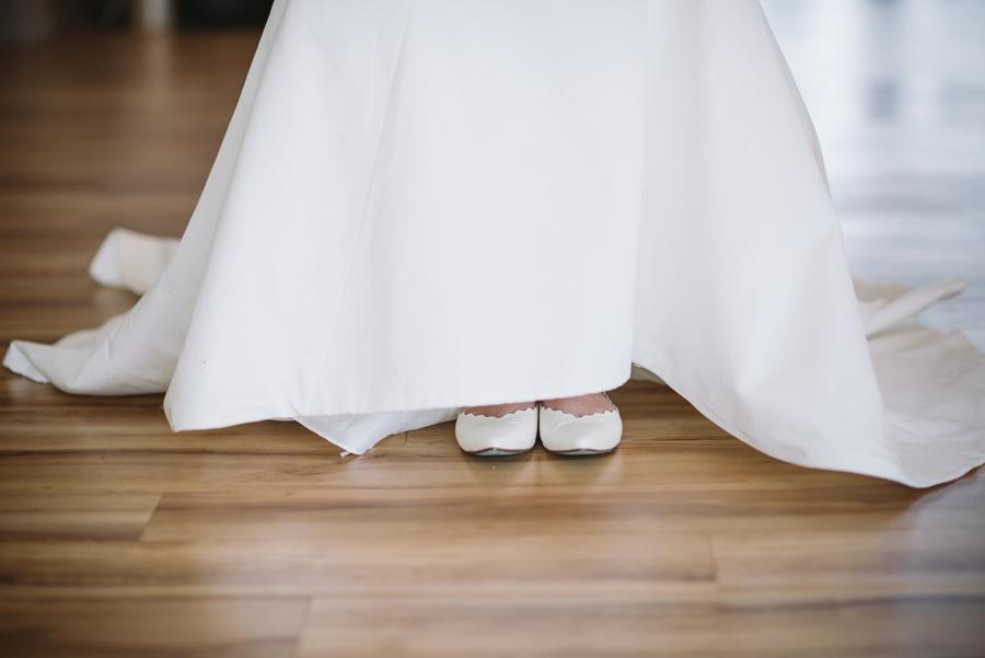 cute bridal flats