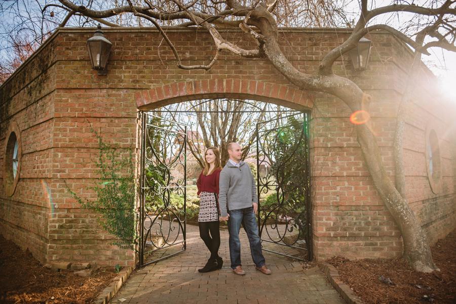 gate engagement photo