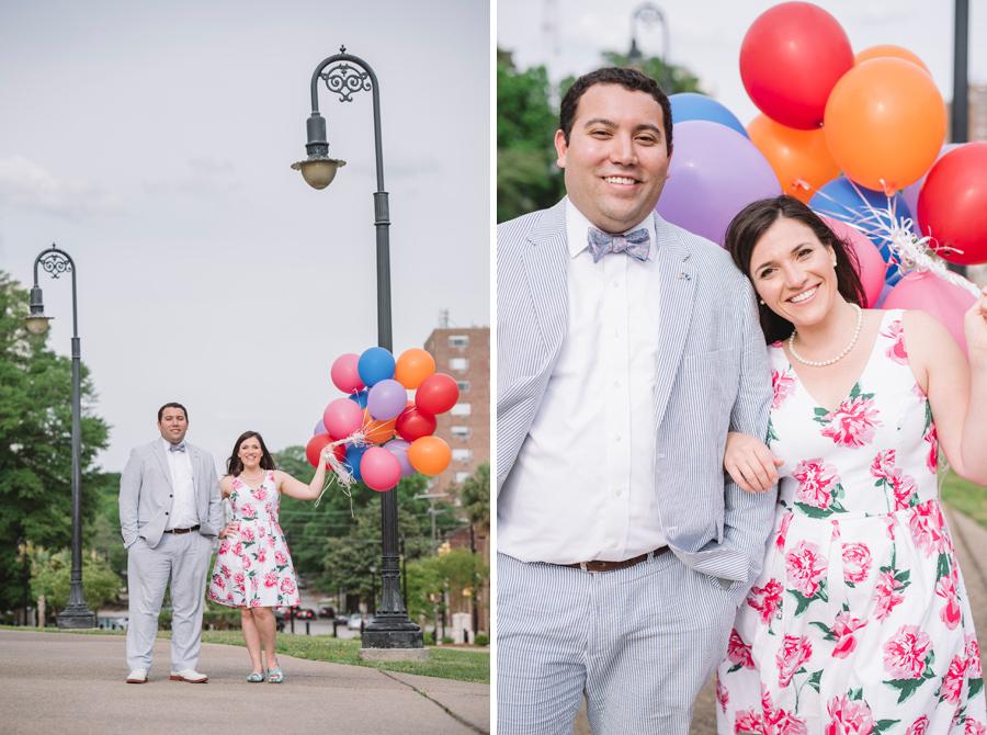 disney balloon engagement