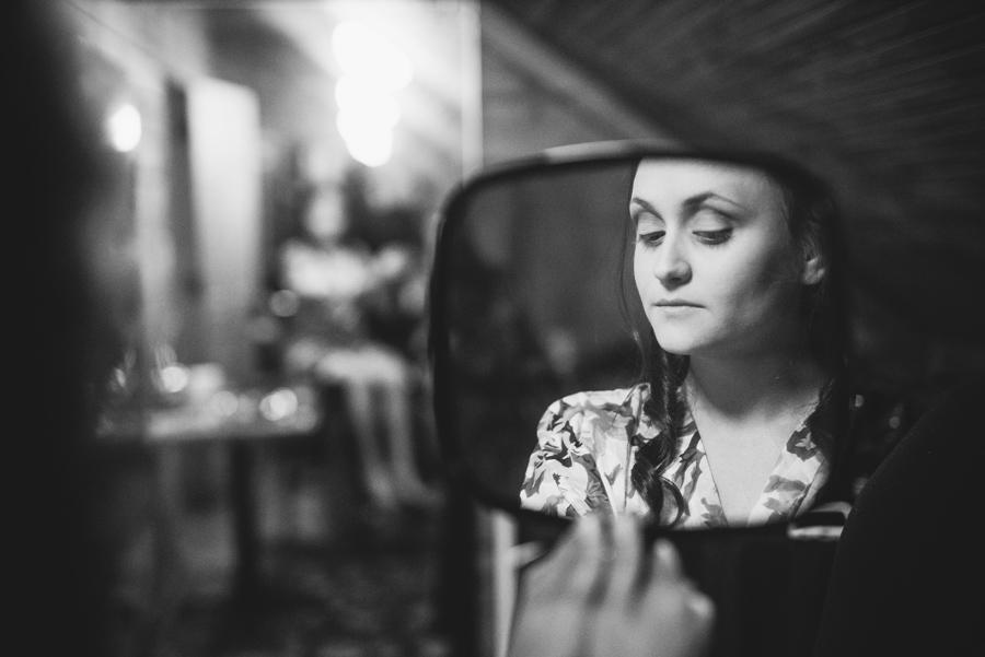 brides reflection