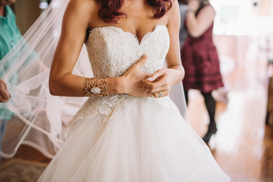 custom bridal cuff