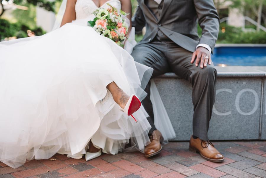 christian louis vuitton shoes bridal