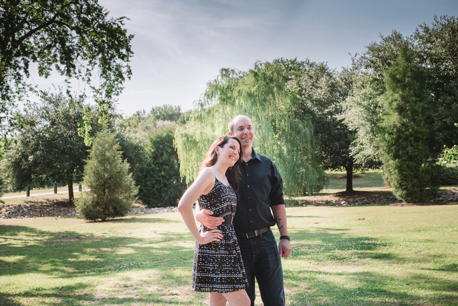 sarah and ben engagement session park