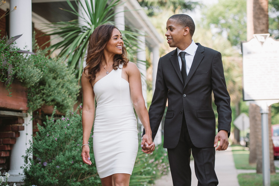 classic engagement session
