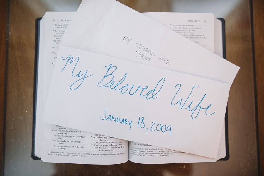 letters to bride from groom