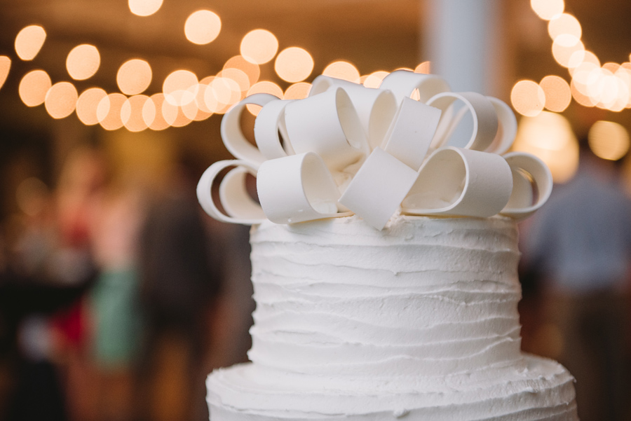 top of cake bow