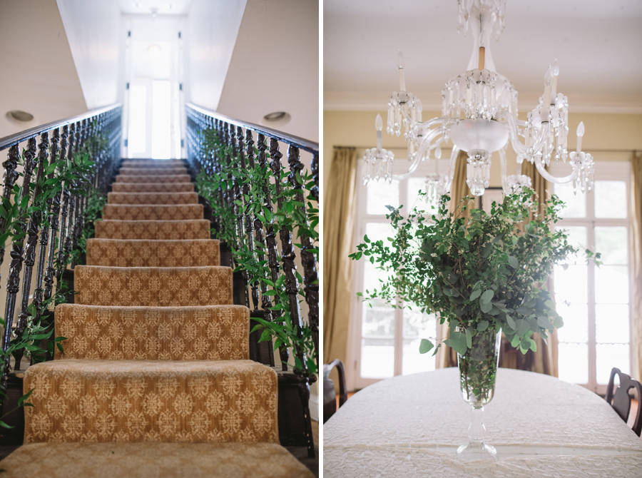 greenery sc lace house stairs