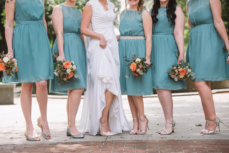 cute bridesmaids shoes