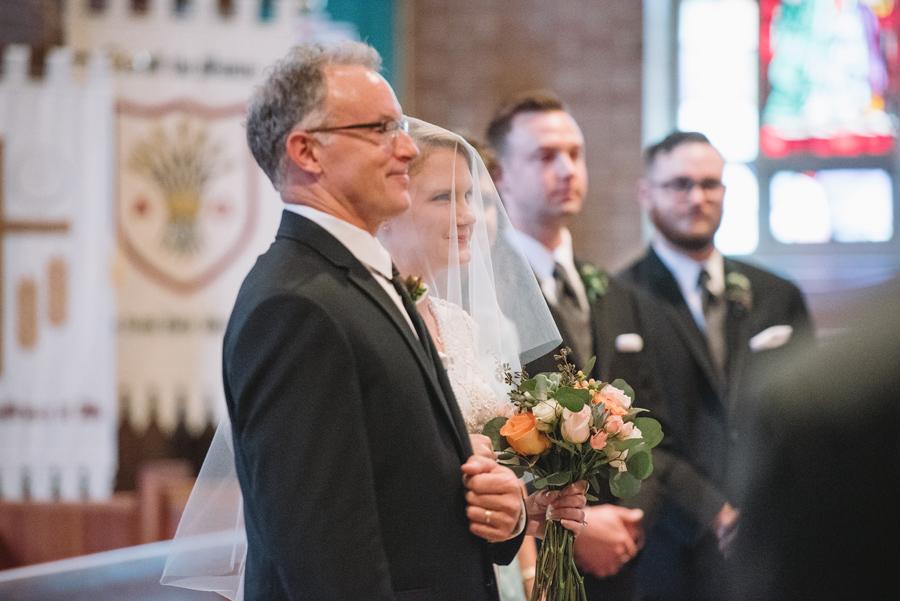 wedding ceremony transfiguration lutheran