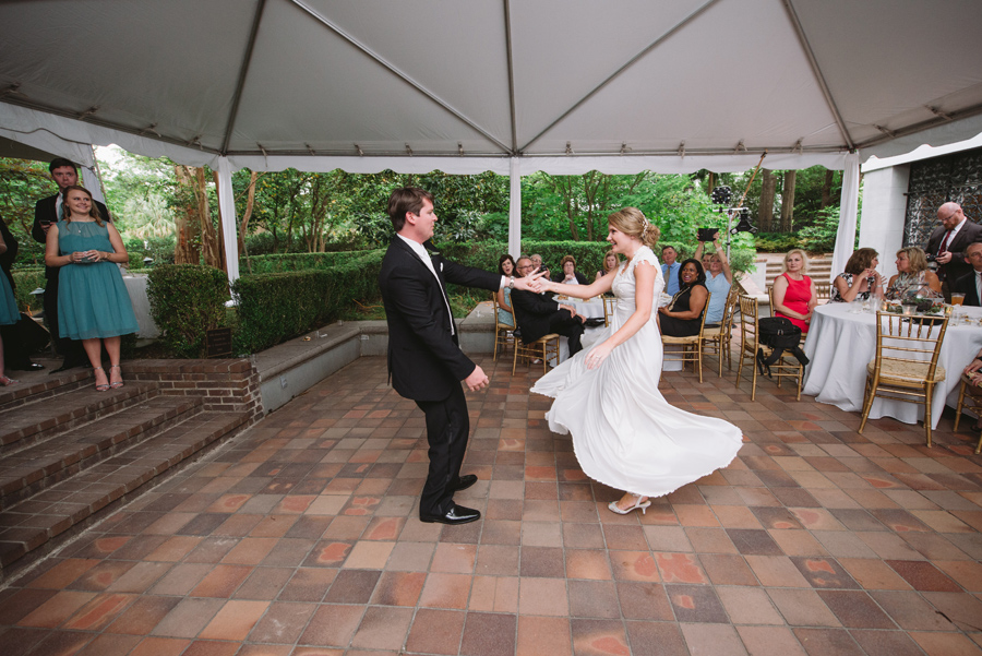 first dance twirling
