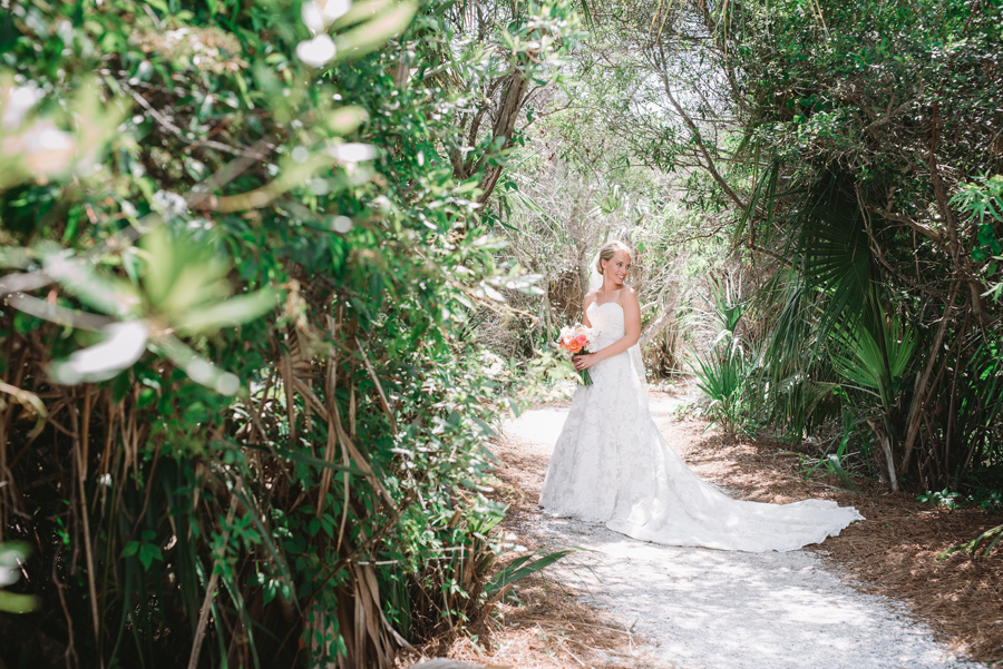 bridal by the sea