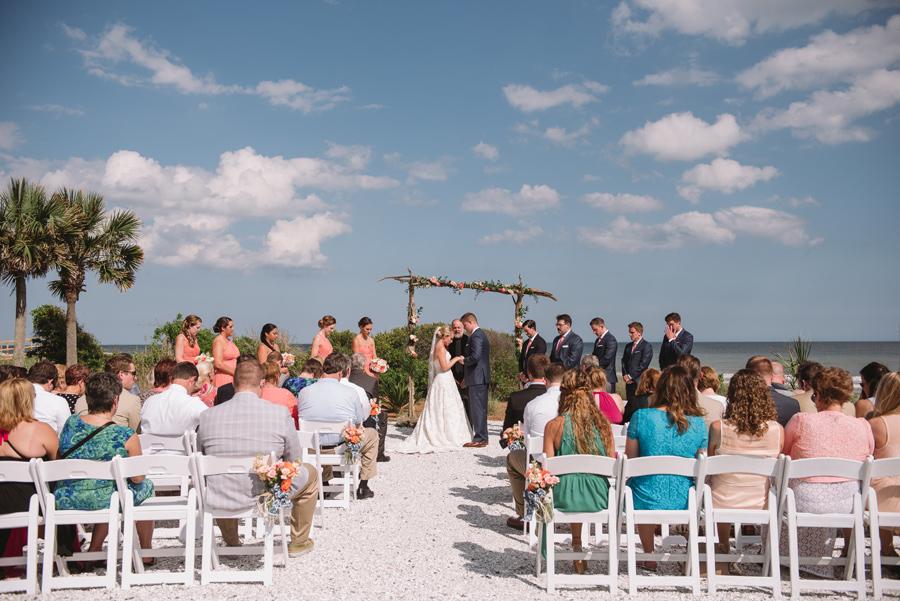 seaside ceremony isle of palms