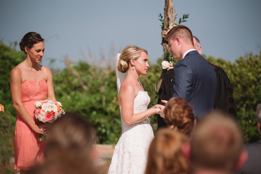 wedding ceremony moment