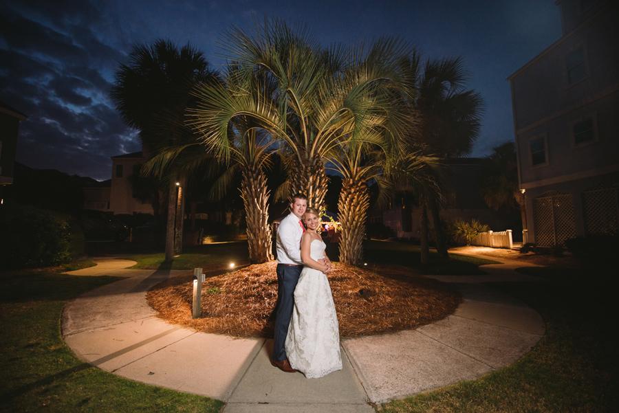 night time portraits isle of palms
