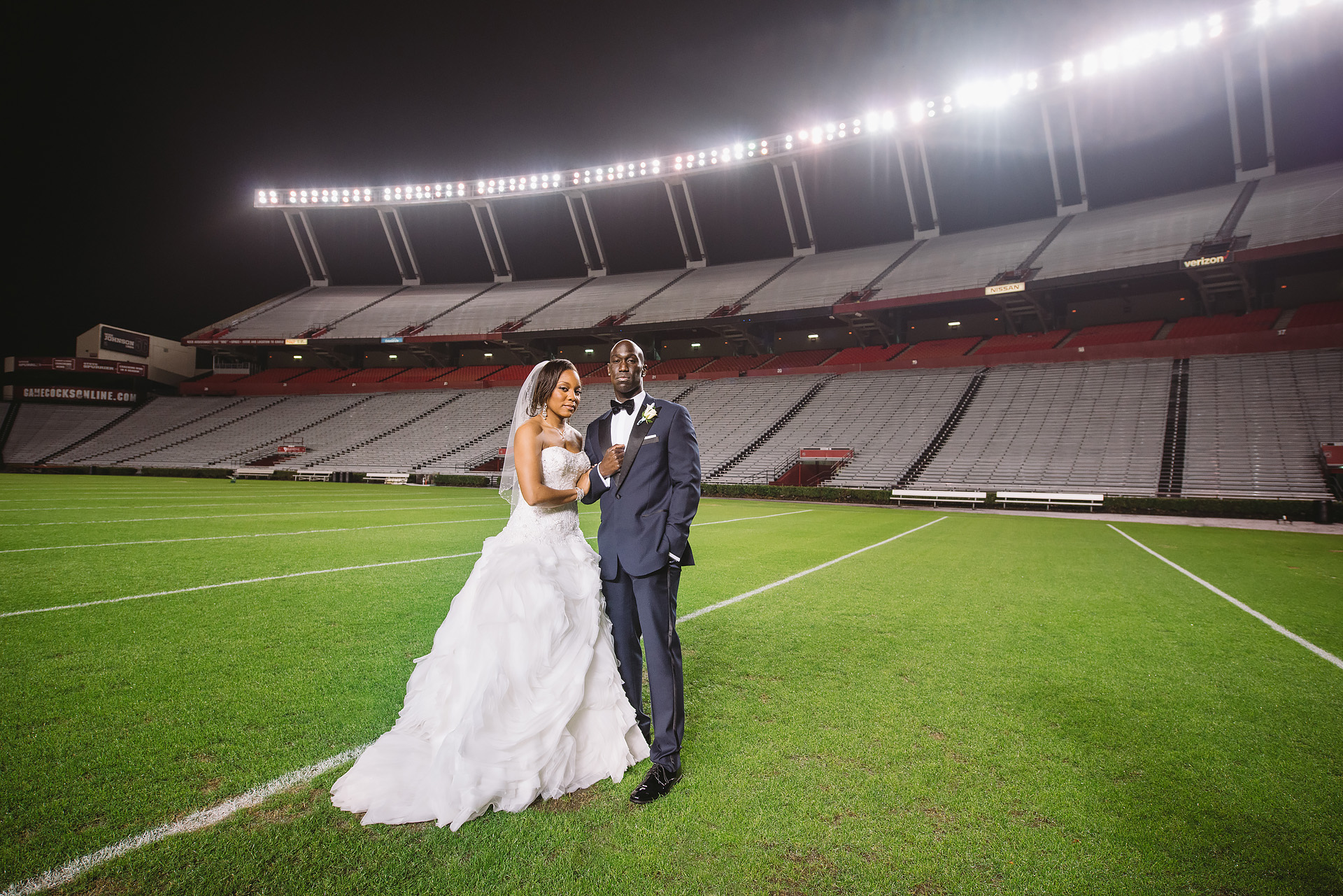 natalie-willis-williams-brice-stadium-wedding