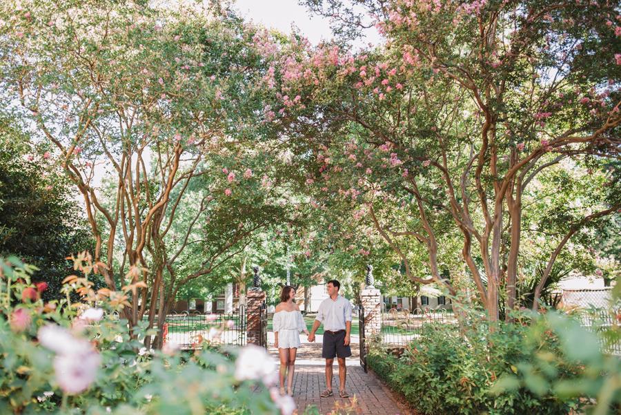 rose garden horseshoe