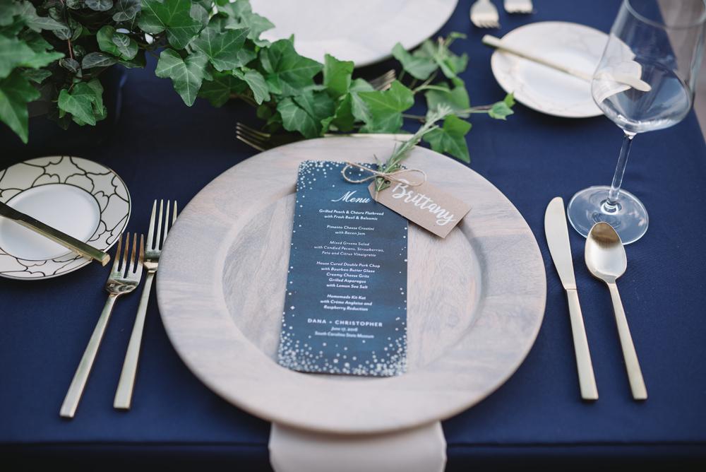 dinner details