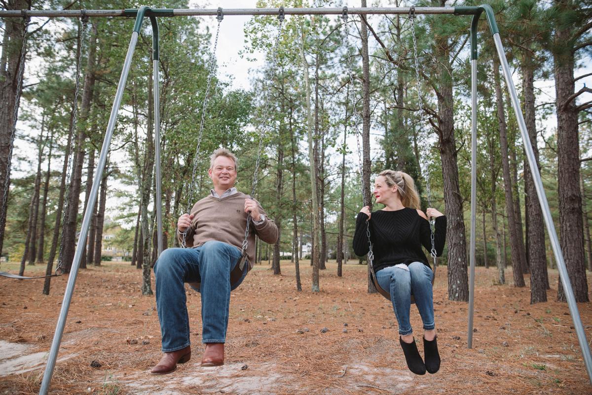 swing engagement photo