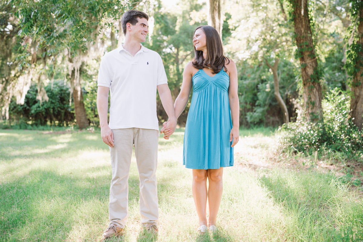 edisto park engagement session