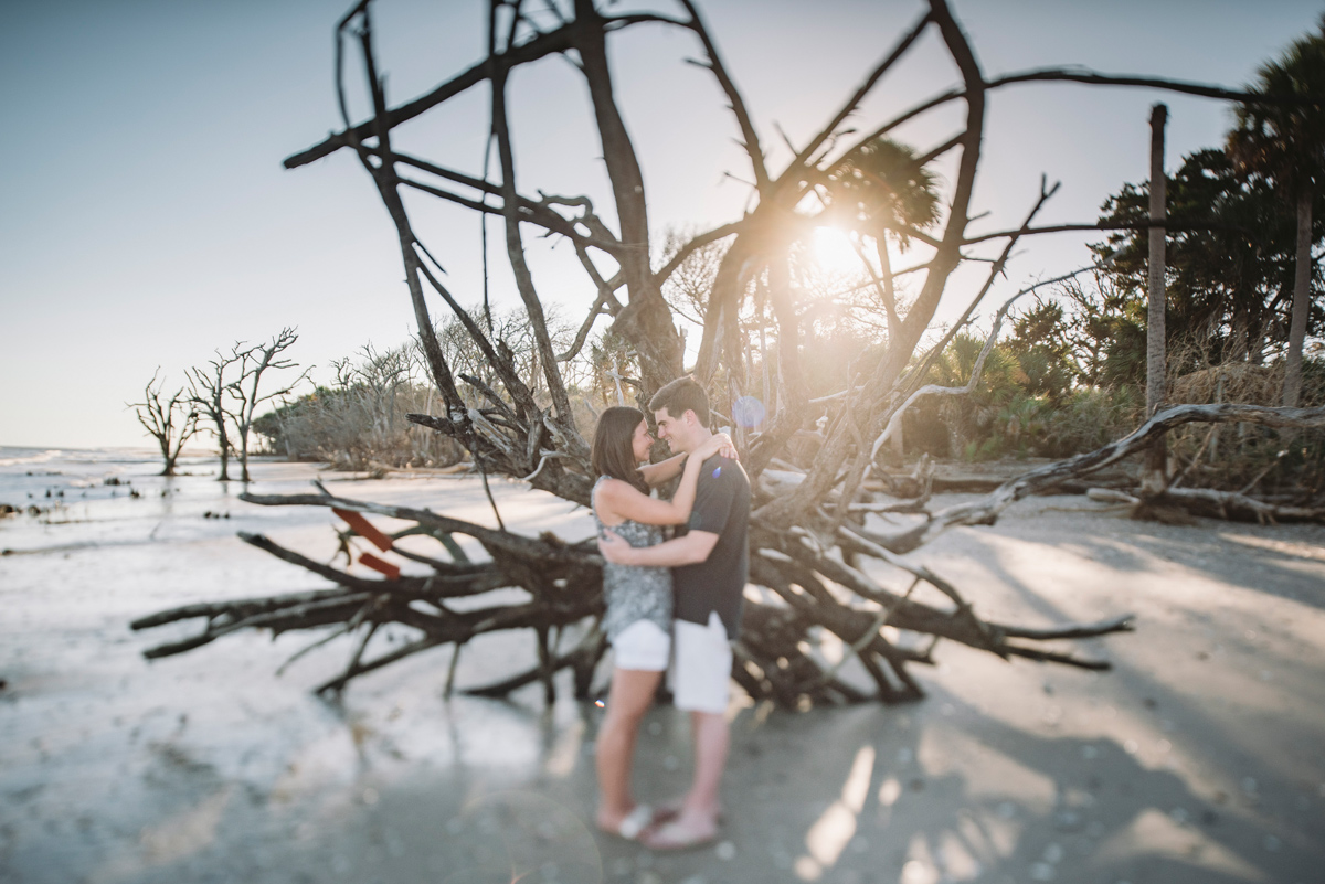 edisto engagement session